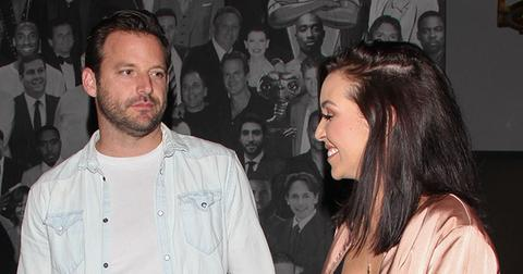 Scheana Shay and Robert Valletta show some PDA at Catch LA