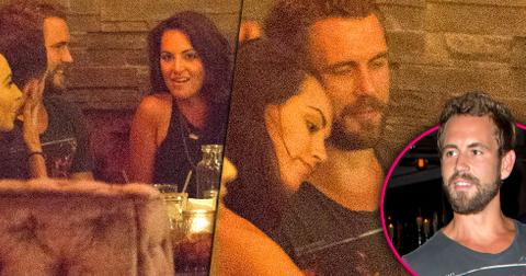 Nick viall dationg mystery woman