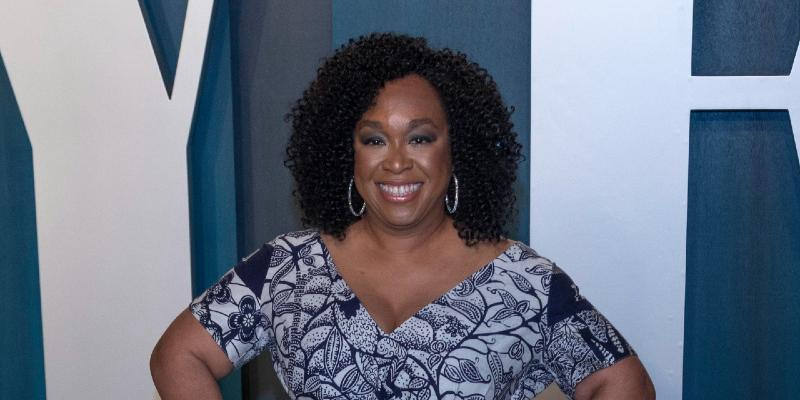 Shonda Rhimes at Vanity Fair Oscar Party