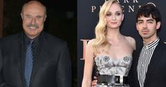 Dr. Phil Reveals Sophie Turner And Joe Jonas' Wedding Date
