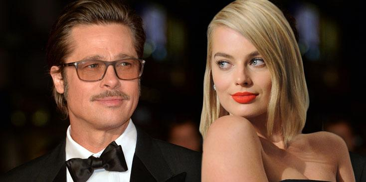 Brad pitt margot robbie dating rumors