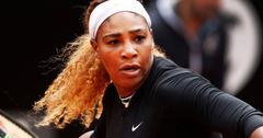 Serena Williams Playing Tennis Wheaties Box