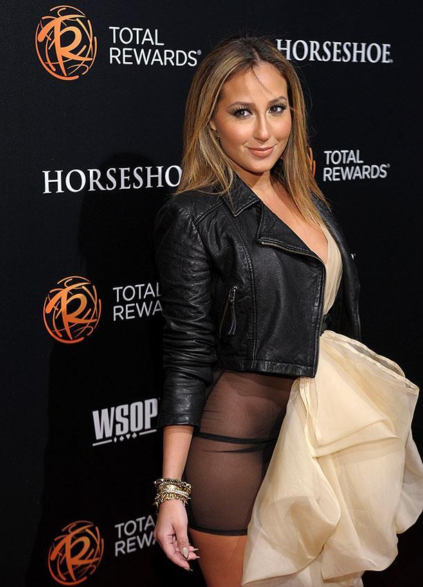 Celebrity crotch flash