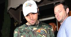 Chris Brown leaves The Nice Guy Club after attending Kylie Jenner's 19th Birthday Party