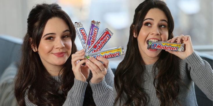 X factor bea miller 3 musketeers throw shine campaign video ok wide
