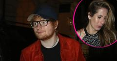 Ed sheeran wears engagement ring fiance made