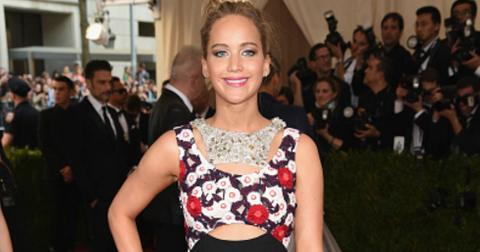 Jennifer lawrence met gala