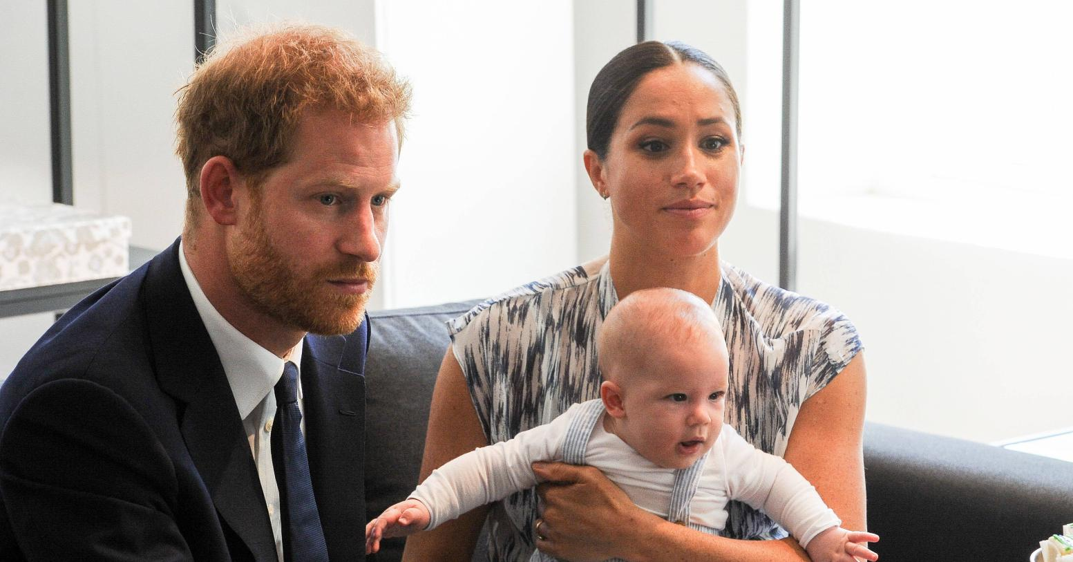 why meghan markle removed name archie birth certificate prince harry