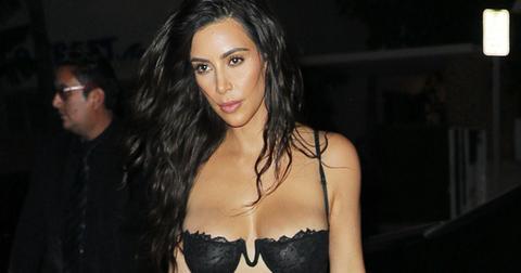 kim kardashian naked lingerie boobs weight loss