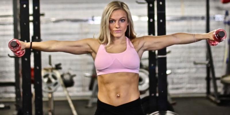 Mackenzie mckee body by mac workouts with her mom
