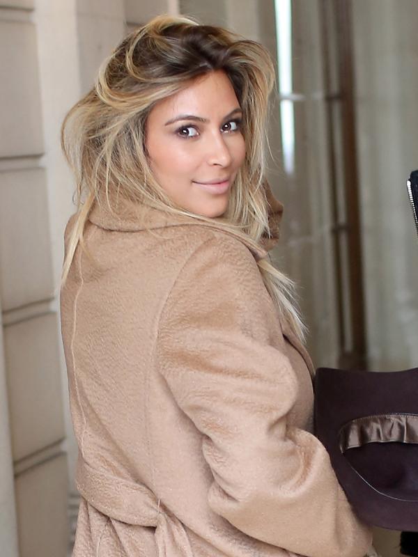 Kim Kardashian Kanye West Paris 5