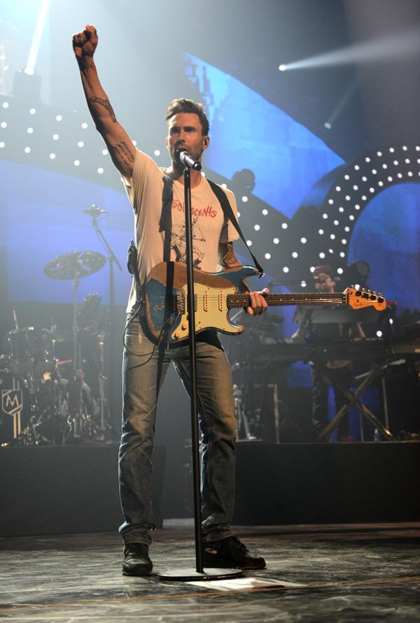 Adam Levine I Heart Radio