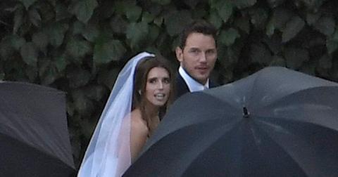 Chris Pratt Katherine Wedding