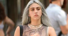 INF – Lourdes Leon Sporting Dyed Gray Hair In SoHo