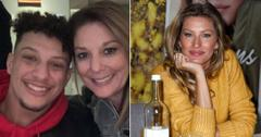patrick mahomes mom randi tweets instagram slams gisele bundchen refs super bowl kansas city chiefs