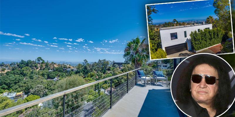 KISS Rocker Gene Simmons List Hollywood Hills Home For $2.2 Million