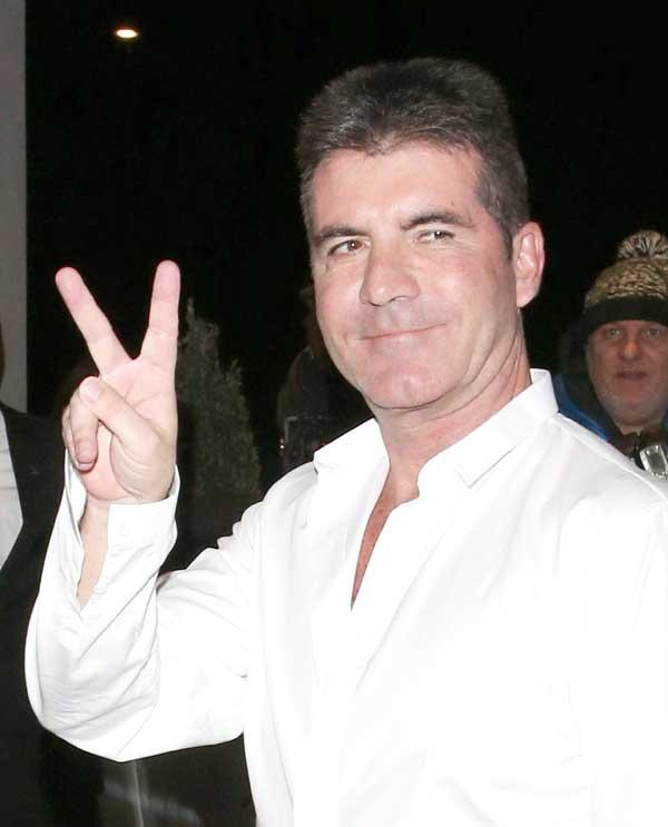 Simon Cowell Baby Best Friends Wife