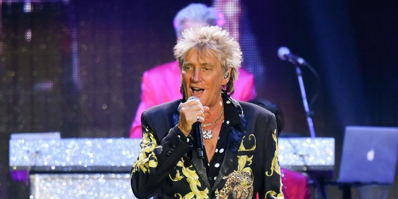 Sir Rod Stewart performs at L'AccorHotels Arena