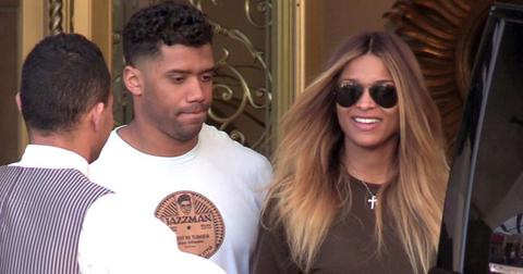*EXCLUSIVE* A pregnant Ciara and Russell Wilson have breakfast together at the Montage
