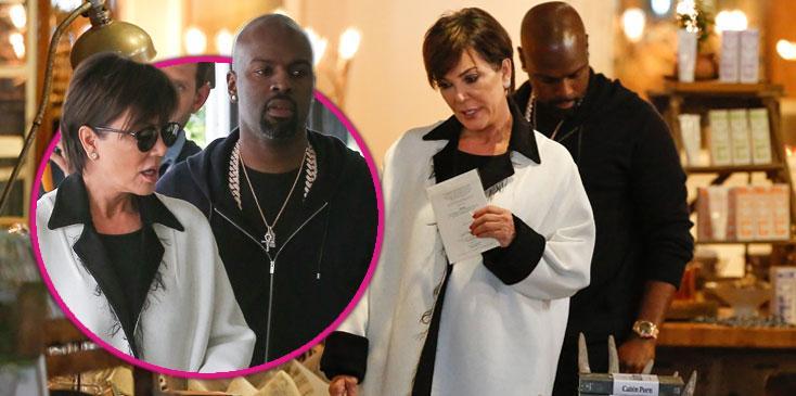 Kris Jenner & Corey Gamble Breakup Updates