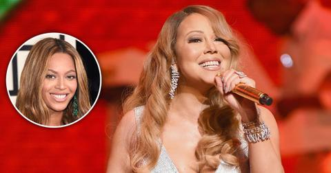 mariah carey beyonce christmas show long