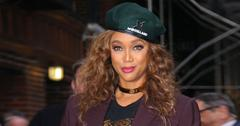 //Tyra Banks Admits Pressure Over Hosting Season  Dancing With Stars pf