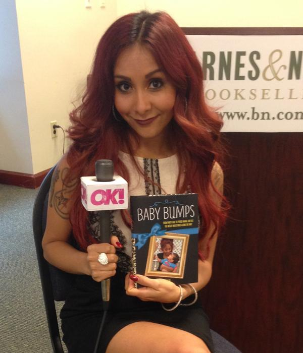 Snooki baby bumps book interview