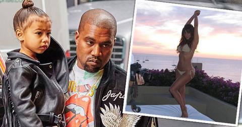Kanye west accuses kim kardashian ditching their kids HERO