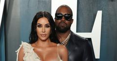 Kim Kardashian And Kanye West On Red Carpet