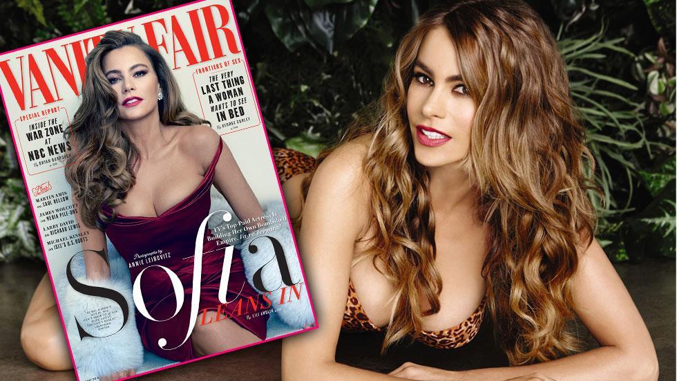 Sofia vergara vanity fair fake boobs (1)