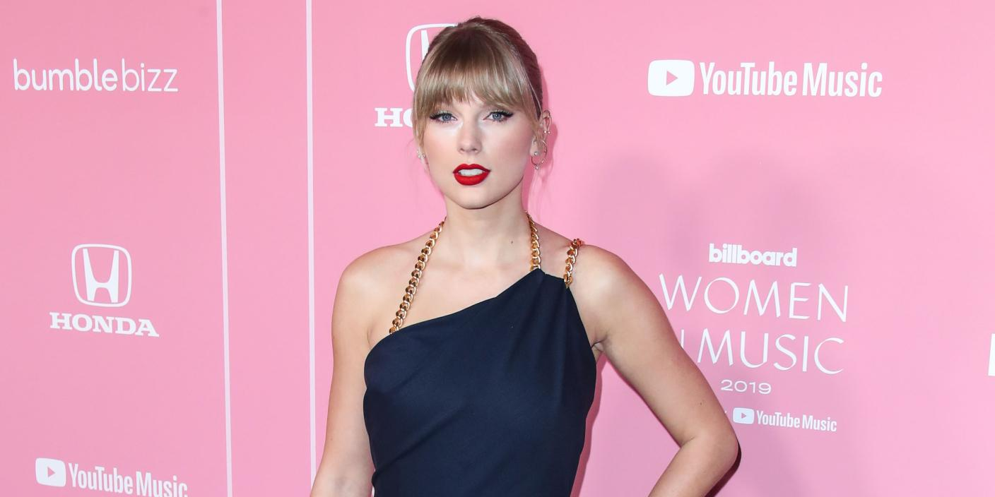 Taylor Swift at the 2019 Billboard Women In Music Awards
