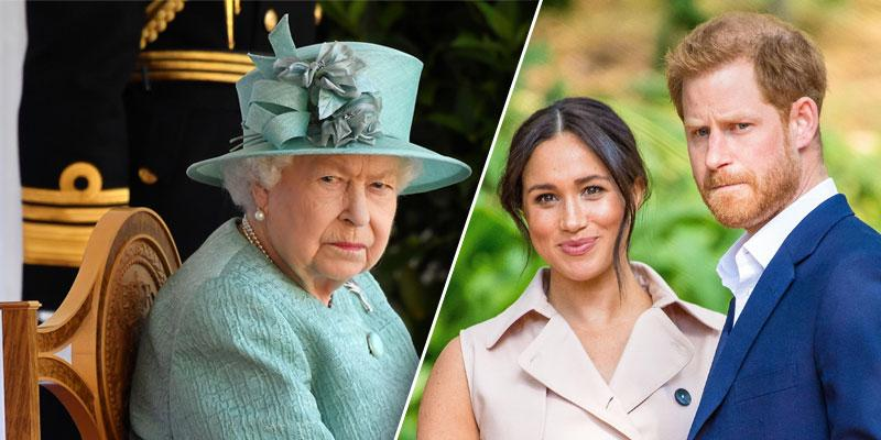 //prince harry shouted the queen royal aide meghan markle