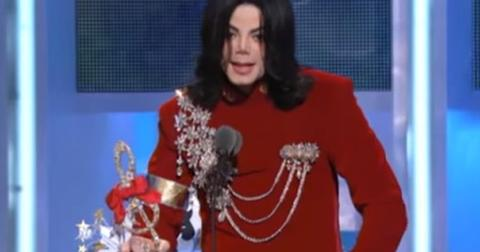 Michael Jackson 2002 VMAs