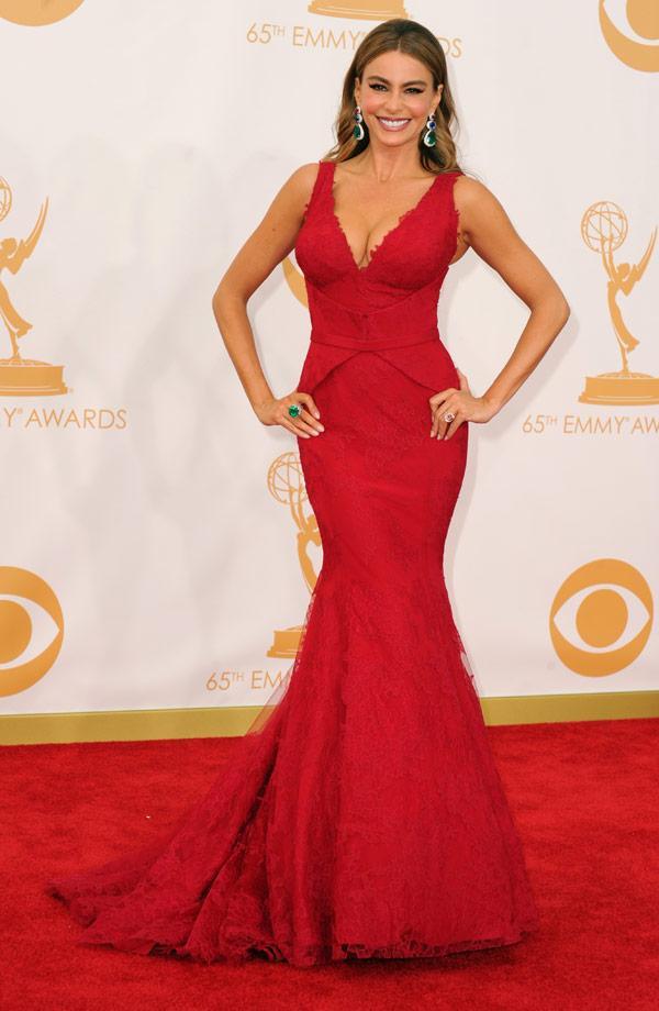 Emmys 2013 Sofia Vergama