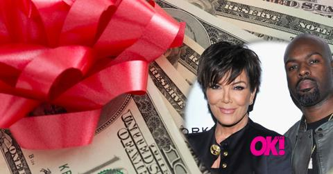 Kris Jenner Corey Gamble Engaged Christmas Gifts Diamond Ring