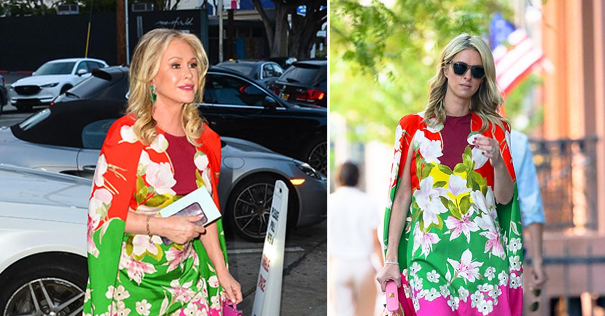 who wore it better kathy and nicky hilton