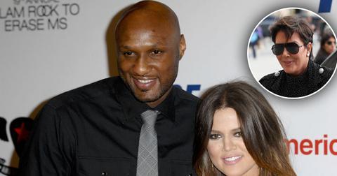Khloe Kardashian Lamar Odom Kris Jenner