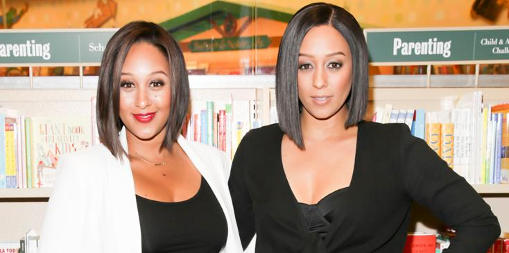 """Tia Mowry And Tamera Mowry Book Signing For """"Twintuition"""""""
