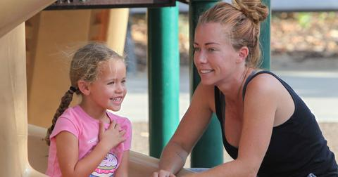 Kendra Wilkinson With Kids PP
