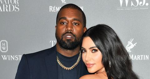 Kim Kardashian & Kanye West Share PDA At SKIMS Nordstrom Launch