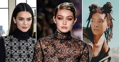 10 supermodels kids of models Kendall Jenner, Gigi Hadid And Willow Smith