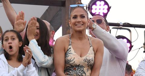 Jennifer Lopez At Pegasus World Cup