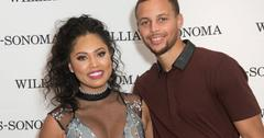 Ayesha Curry and Steph Curry at Williams Sonoma event