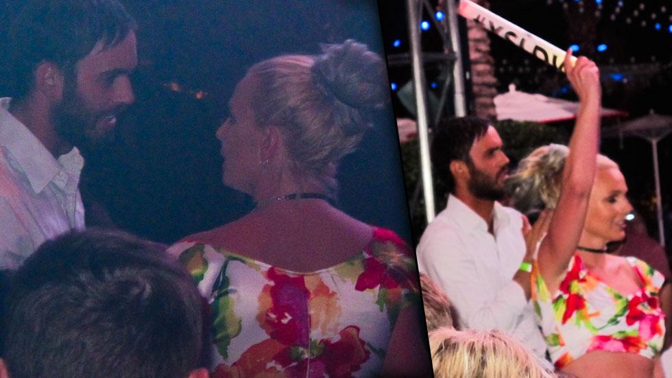 Britney Spears Parties Cade Hudson Las Vegas
