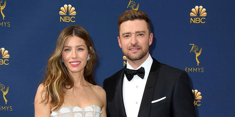 Jessica Biel And Justin Timberlake On Red Carpet