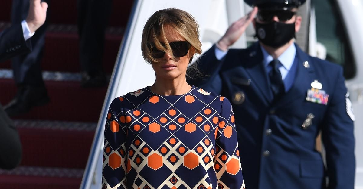 'Over It': Melania Trump Goes Viral For Refusing To Pose With Donald After Being Booted From D.C. — See Hilarious Reactions