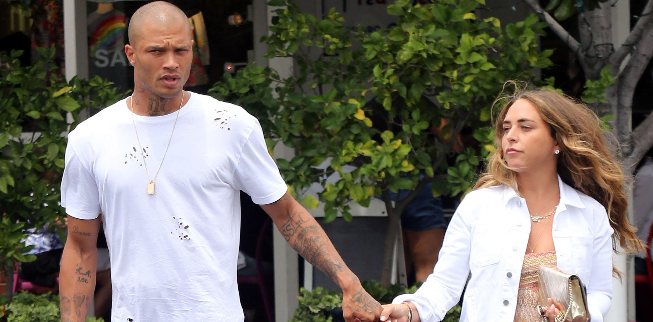 "EXCLUSIVE: Chloe Green and ""hot felon"" Jeremy Meeks at Fred Segal"