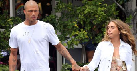 """EXCLUSIVE: Chloe Green and """"hot felon"""" Jeremy Meeks at Fred Segal"""