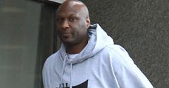 Lamar Odom Filming His Reality Show In Beverly Hills