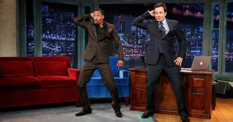 Nick Cannon and Jimmy Fallon